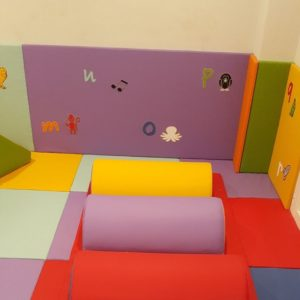 Wall Padding with Pictures SAF8