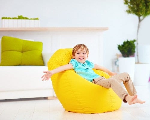 Beanbags at Moon Kids Home