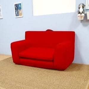 Childrens Sofabed in Red