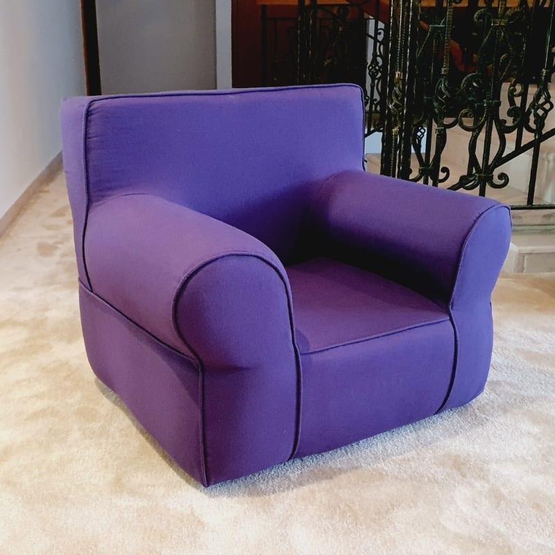 Iris Purple Armchair