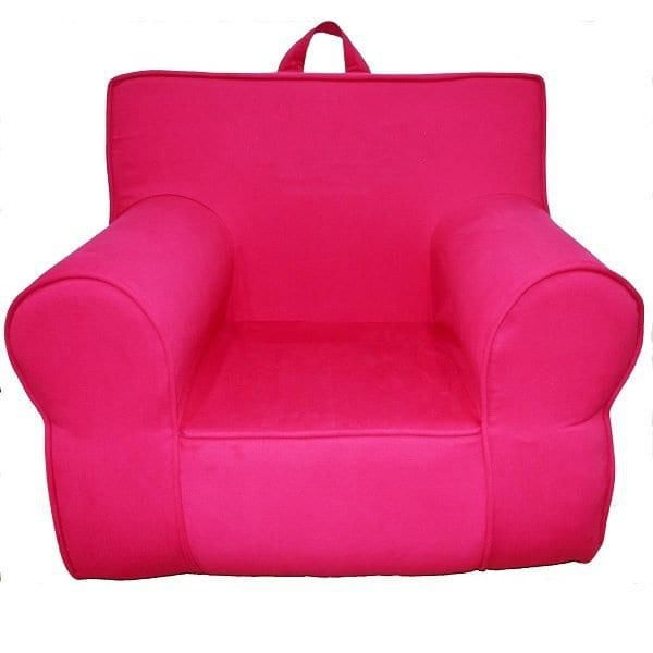 Cerise Pink Armchair for Kids