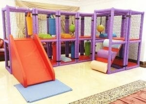 Moon Pod Soft Play Frame Rental at Moon Kids Home