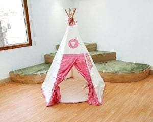 Tepees at Moon Kids Home