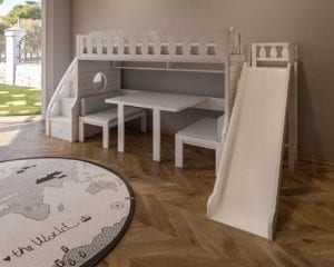 Bedrooms at Moon Kids Home