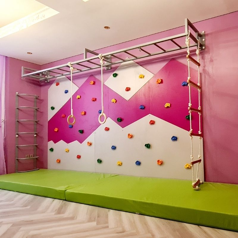 Mountain Climbing Wall - Extra Large with Green Mat