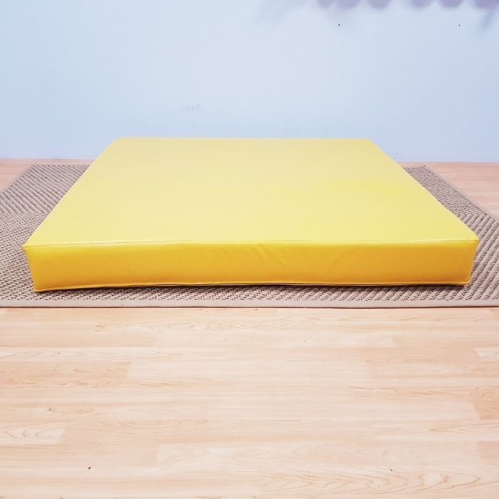 Square Safety Mat in Yellow