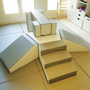 Step and Slide Softplay Set at Moon Kids Home