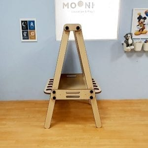 3in1 Foldable Art Easel Side