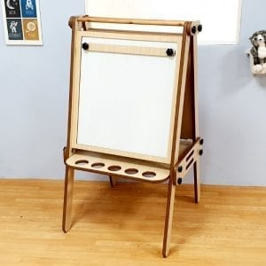 3in1 Foldable Art Easel White Board Dry Erase