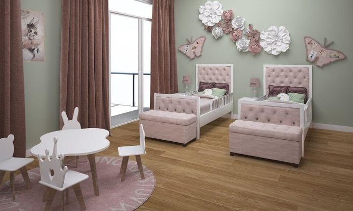 Bedroom Interior Design at Moon Kids Home