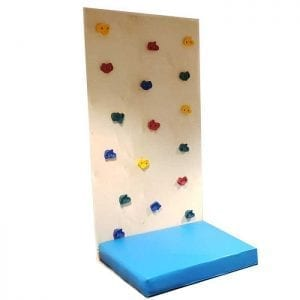 1 Panel Climbing Wall with Safety Mat