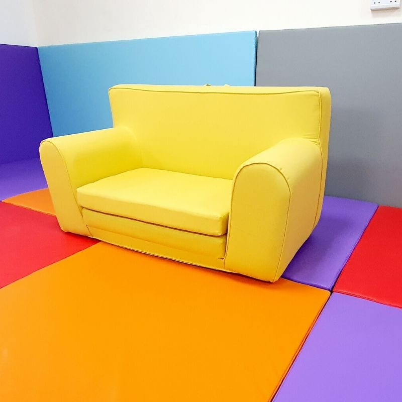 Yellow Sofabed