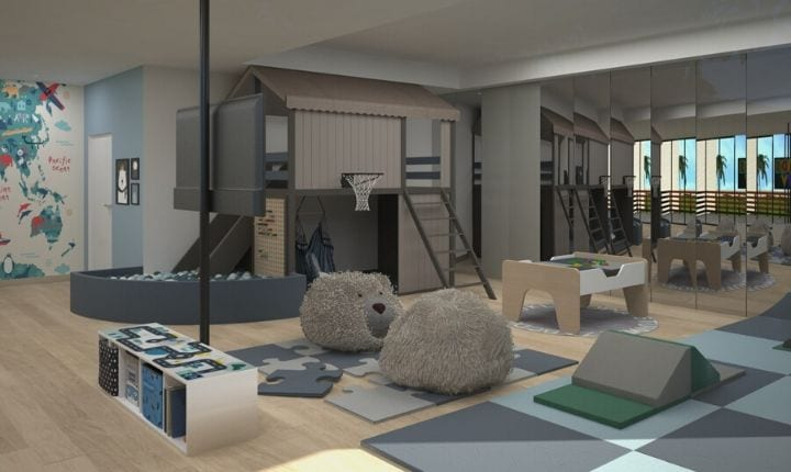 2D interior design at with Moon Kids Home