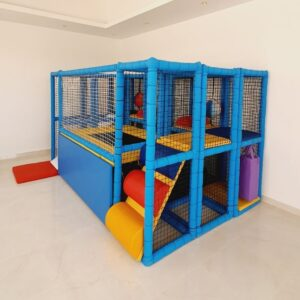 Moon Pod Soft Play Frame with Trampoline 2