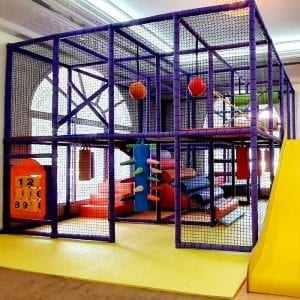 Moon Kids Soft Play Frame Fun House