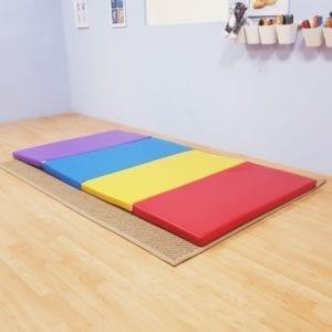 Rainbow Folding Mat
