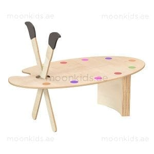 Large Art Palette Table