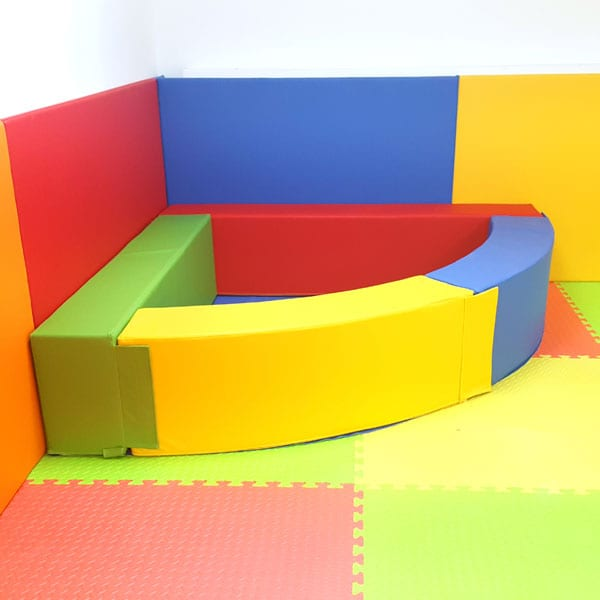 Soft Play Corner Ball Pool