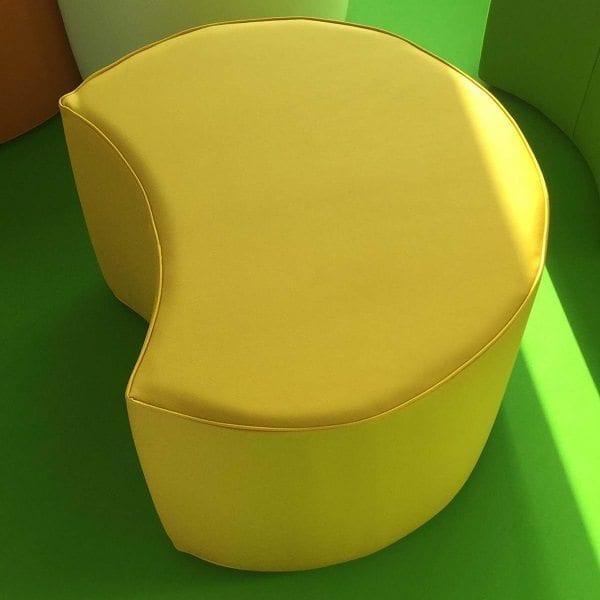 Softplay Half Moon Seats