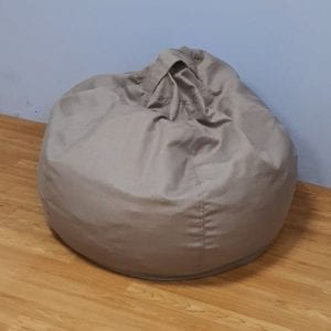 Light Grey Beanbag
