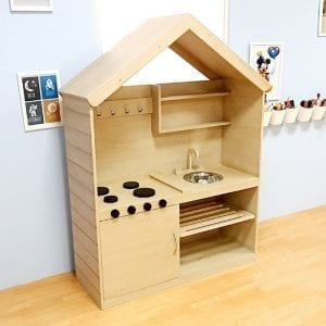 Mini House Mud Kitchen