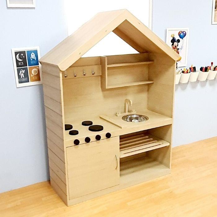 Mini House Mud Kitchen