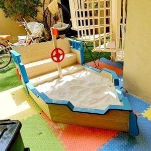 Pirate Boat Sandpit