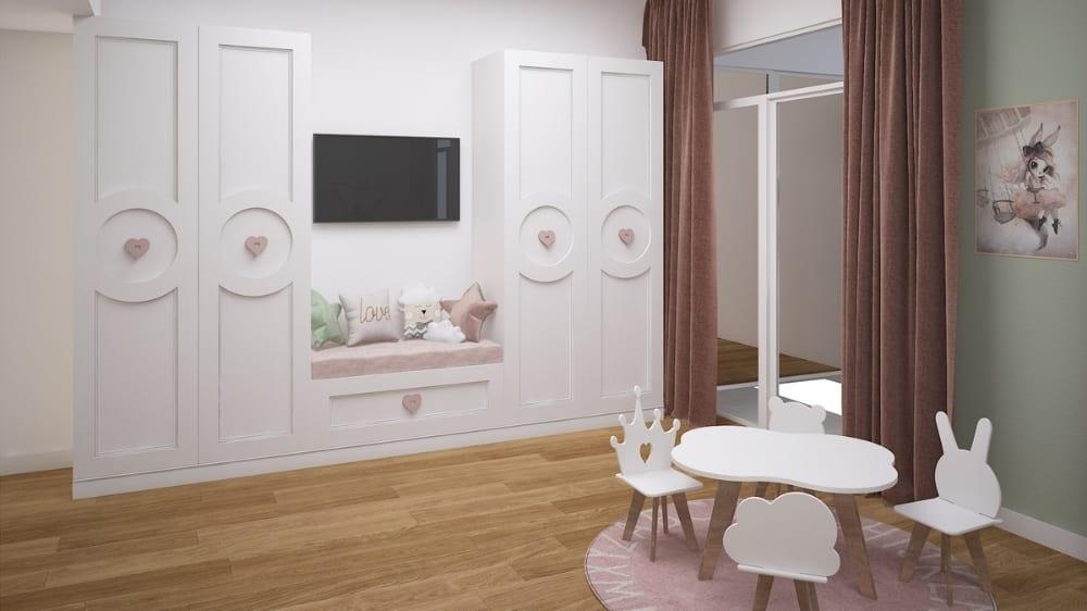 Butterfly Kids Bedroom Design