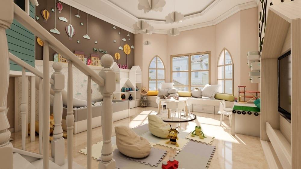 Fairytale Playroom Design at Moon Kids Home