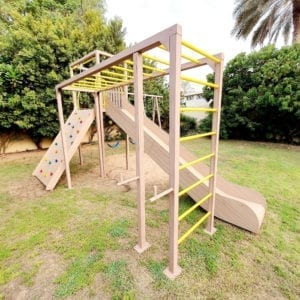 Multi Purpose Outdoor Physical Play Structure