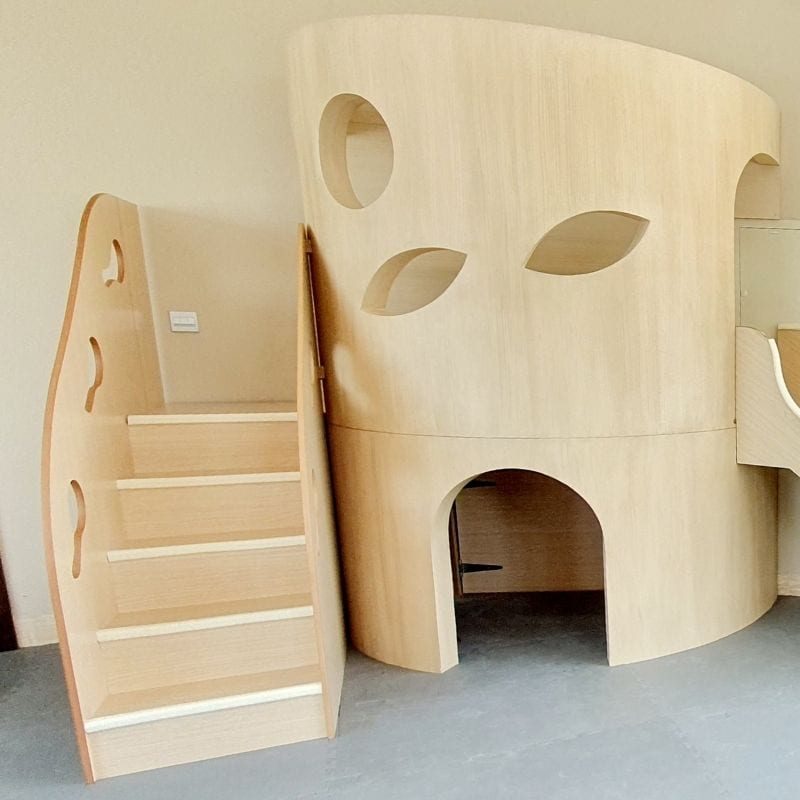 Tree Trunk Playhouse