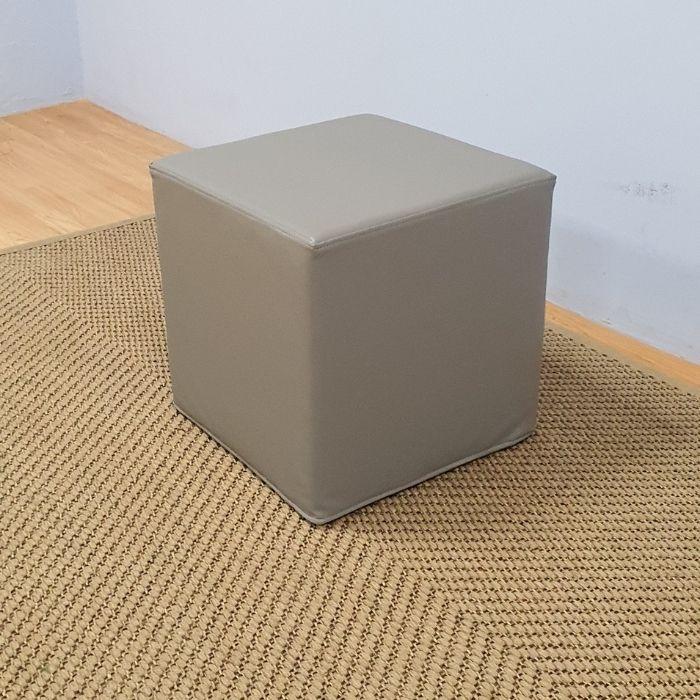 Square Ottoman Grey