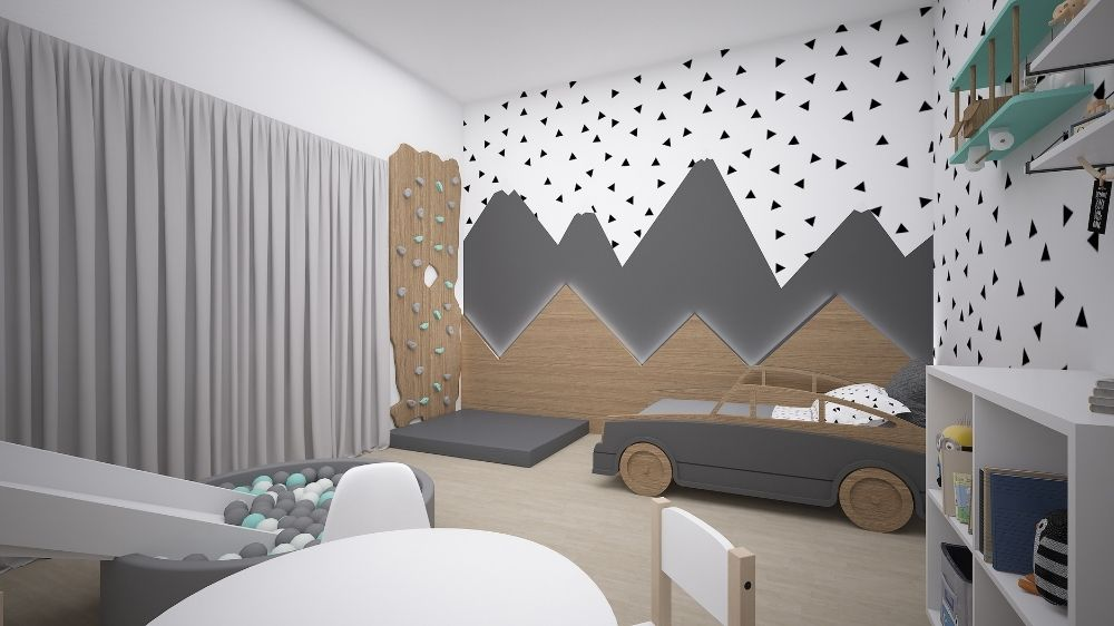 Bedroom for Sara by Moon Kids Home