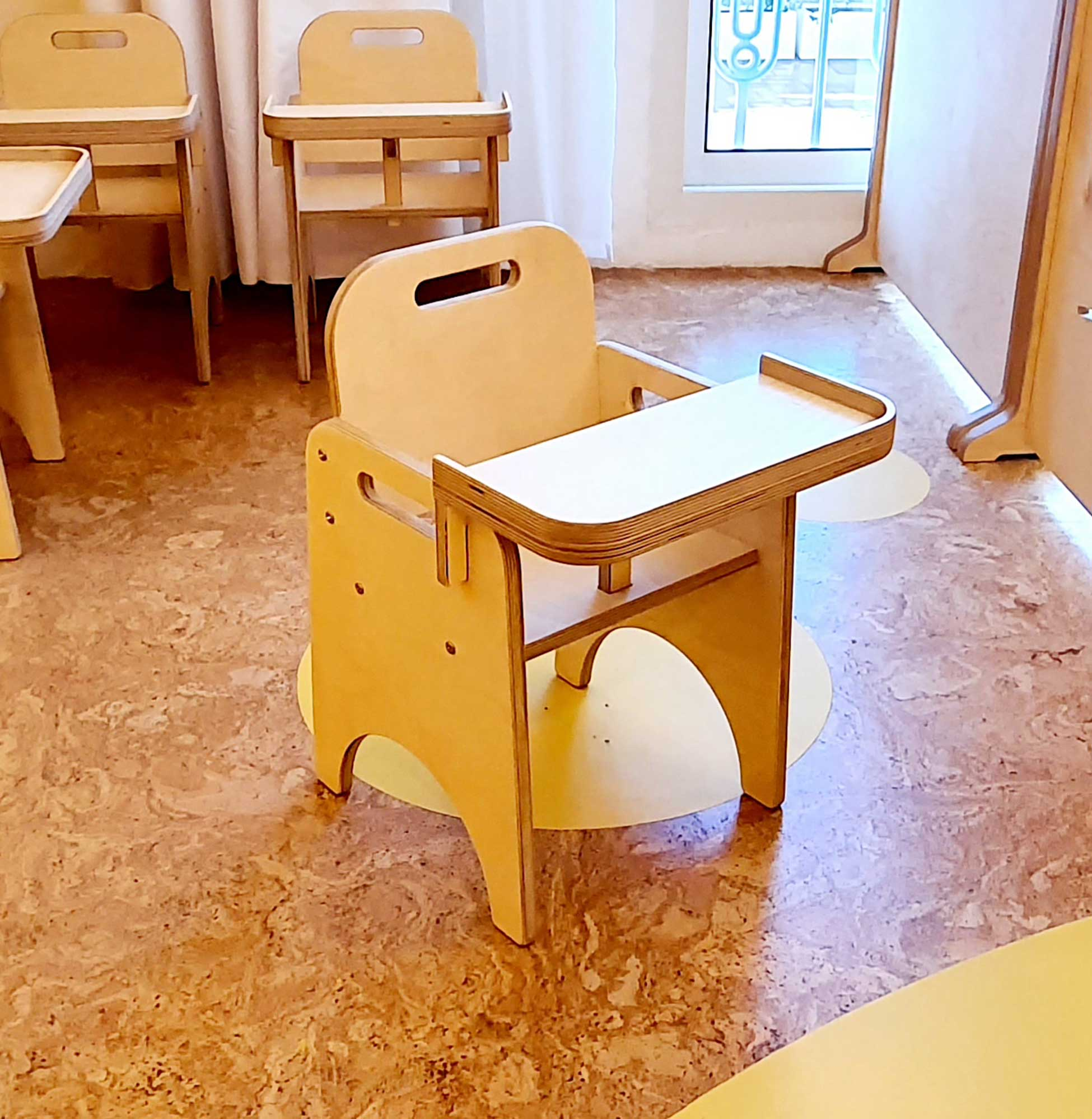 Toddler Chair with Tray