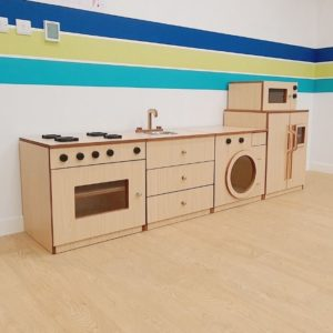 Roleplay Kitchen for Kids