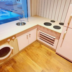 Pink Roleplay Kitchen Playset