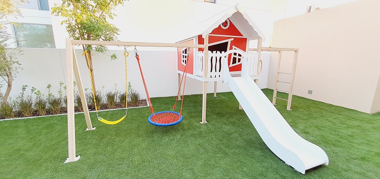 Outdoor Play Area for Amna