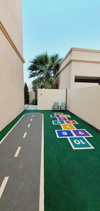 Outdoor Play Area for Arij