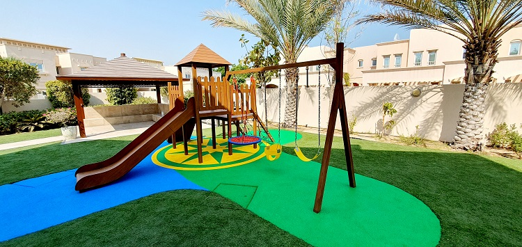 Outdoor Play Area for Asiya