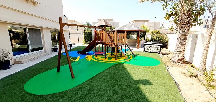 Outdoor Play Area for Asiya