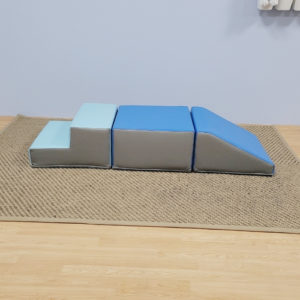 Softplay Mini Ramp with Stairs