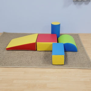 Softplay Mini 5 Piece Climber Set