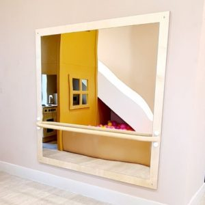 Toddler Pull Up Bar with Mirror