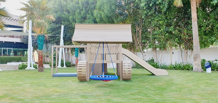 Outdoor Play Area for Nadia