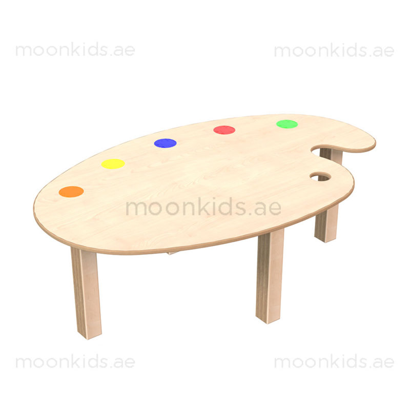 Medium Art Palette Table