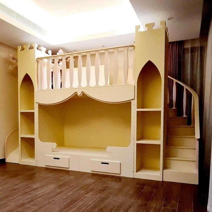Decorative Castle Bunk Bed