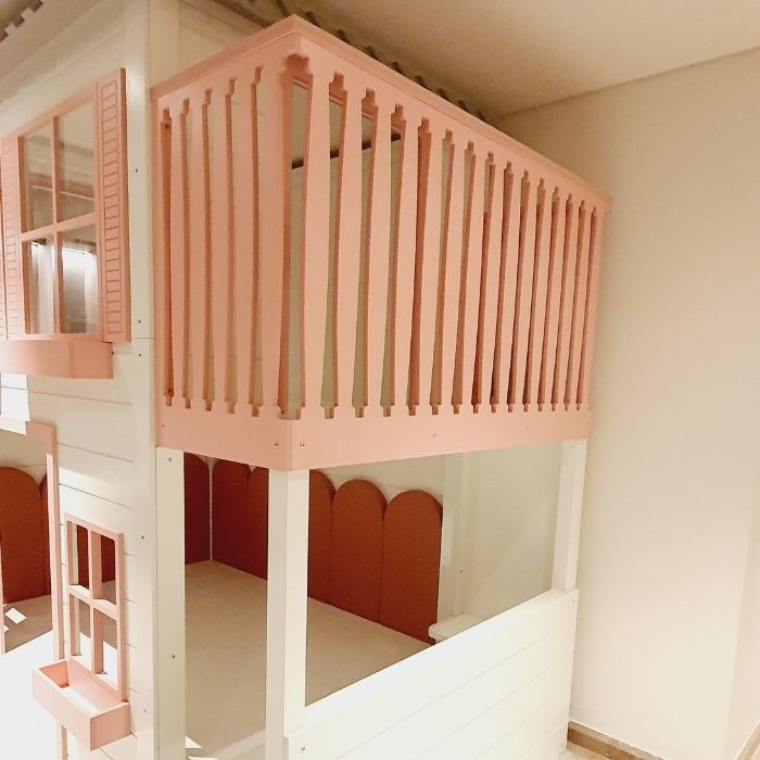 Pink Play Den Bed