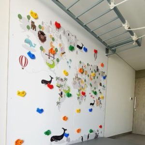 Map Climbing Wall 2