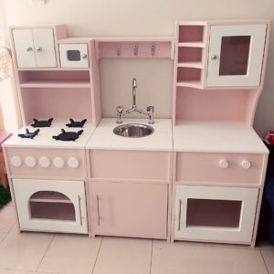 Roleplay Kitchen Set 6 - Pink