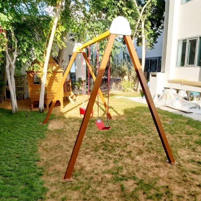 Double Swing Set - A Frame